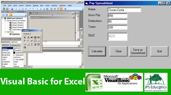 CURSO DE EXCEL CON VISUAL BASIC